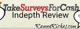 take surveys for cash review 2018