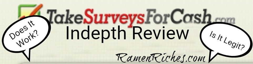 take surveys for cash review 2018